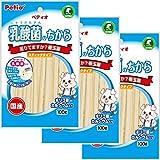 ペティオ (Petio) 犬用おやつ 乳酸菌のちから スティックタイプ 100g×3個 (まとめ買い)