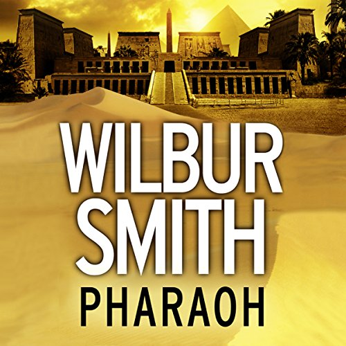 Pharaoh audiobook cover art