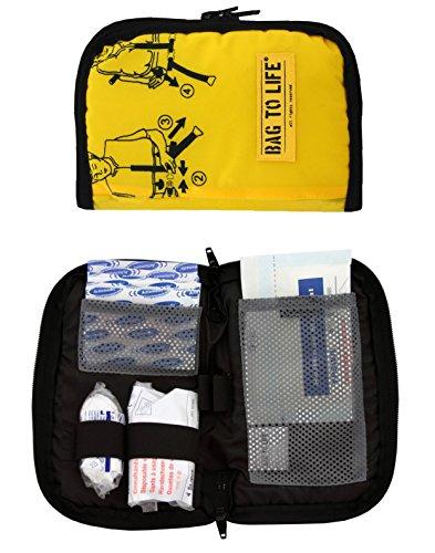 BAG TO LIFE First Aid Kit Erste Hilfe Tasche Upcycling einer Rettungsweste Notfalltasche