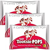 Candy Cane Tootsie Pops 9.6 Oz. Bags Pack Of 3
