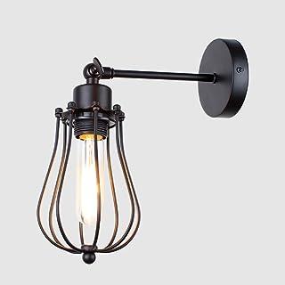 MX Light Fixture Wall lamp Loft American Vintage Indoor Light Bedside Lamps Industrial Sconce Bedroom Wall Lights for Home...