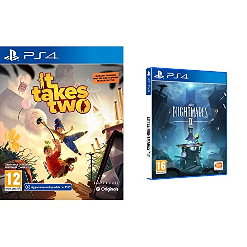 It Takes Two Ps4 - Playstation 4 & Little Nightmares Ii - Playstation 4