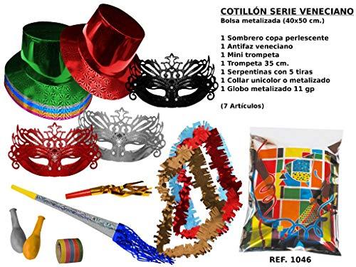 CAPRILO Lote 10 Bolsas Cotillones Decorativas Sombrero