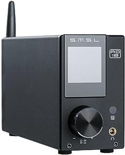 S.M.S.L AD18 ステレオ スピーカー パワーアンプ 80Wx2大出力 / Bluetooth 4.2 / Apt―X / NFC デジタルアンプ 2.1ch 重低音信号出力 クラスD オーディオ・アンプ