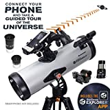 Best Telescopes - Celestron – StarSense Explorer LT 114AZ Smartphone App-Enabled Review