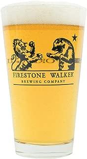 Firestone Walker Beer Wine Alcohol Glass (Lion & Bear 16oz Pint)