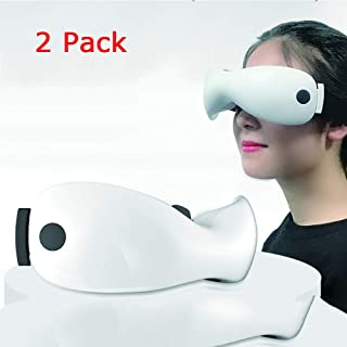 DNNAL 2 Pack Eye Massager, Reduce Dark Circles Fatigue Recovery Eye Vision Eye Relax Trainer
