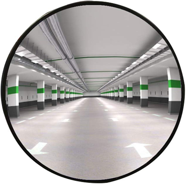 Convex mirror, Indoor ABS Framework Security Convex Mirror Street Turn Supermarket Anti-Theft Traffic Mirror 0517P