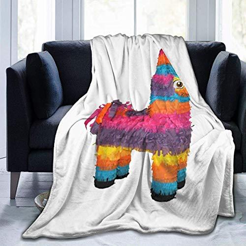 NR Ich würde Diese Pinata Decke, super weiche warme Flanelldecke für Erwachsene Kinder 80 'x 60' Schlagen