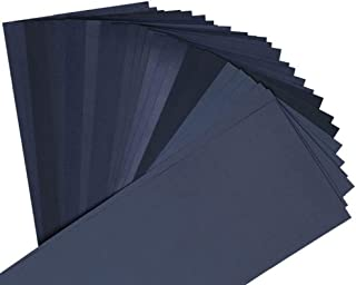UEETEK 紙やすり 耐水ペーパー 27枚入り (400 600 800 1000 1200 1500 2000 2500 3000 各3枚)