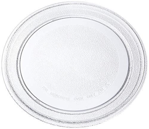 Invero - Piatto universale in vetro per forno a microonde, profilo piatto, 245mm Diameter