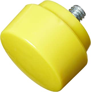Nupla 15159 Extra Hard Face QC Replaceable Tip for Impax Dead Blow and Quick Change Hammers, Yellow, 1.5