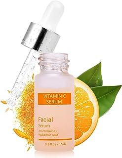 Vitamin C-serum för ansikte 24k guld Anti Aging fuktgivande hudvård Hyaluronsyrablekning gör ljusare skönhet