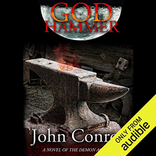 God Hammer audiobook cover art