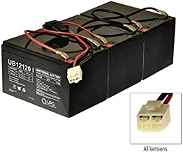 AlveyTech Razor MX500 / MX650 36 Volt 12 Ah Battery Pack (W15128190003), Includes Three 12 Ah Batteries, Wiring Harness, and Wiring Diagram