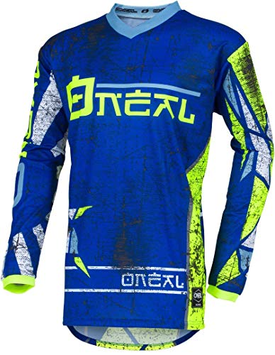 Cycling Jerseys O'Neal Element Jersey Zen Men blue Size S 2019 Bike Jersey Longsleeve