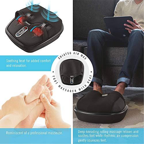 HoMedics Shiatsu Air Max Foot Massager