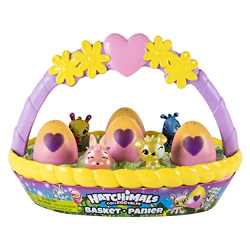 HATCHIMALS CollEGGtibles – Spring Basket with 6 CollEGGtibles