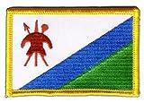 Aufnäher Patch Flagge Lesotho - 8 x 6 cm
