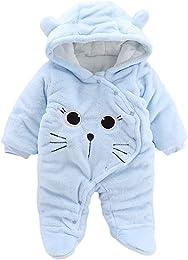 Covermason Vêtement Bébé Garçon Hiver Chaud Pyjama