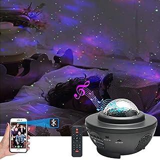 My Pick ae Original Star Night Light for Kids | Moon Lamp | Bedroom Lights | Star Projector | Baby Night Light | 360°Rotat...