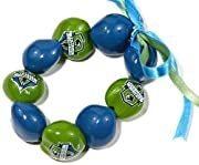 Nine genuine Kukui Nuts hollowed, dried, polished, painted, and strung on elastic Officially licensed product featuring vivid and detailed logos Traditional Kukui Nuts are a symbol of good luck, enlightenment, and protection. Developed and produced b...