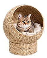 Banana Leaf Comes with cushions Washable 30c Elegant Design Comfortable Sleeping Cave for your Cat.