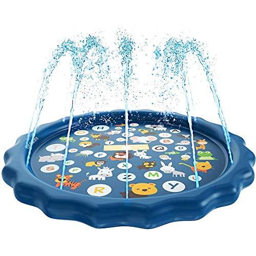 AJH Piscina inflable para niños de encaje con anillo hinchable para niños, relleno de piscina para niños de 7 a 14 años