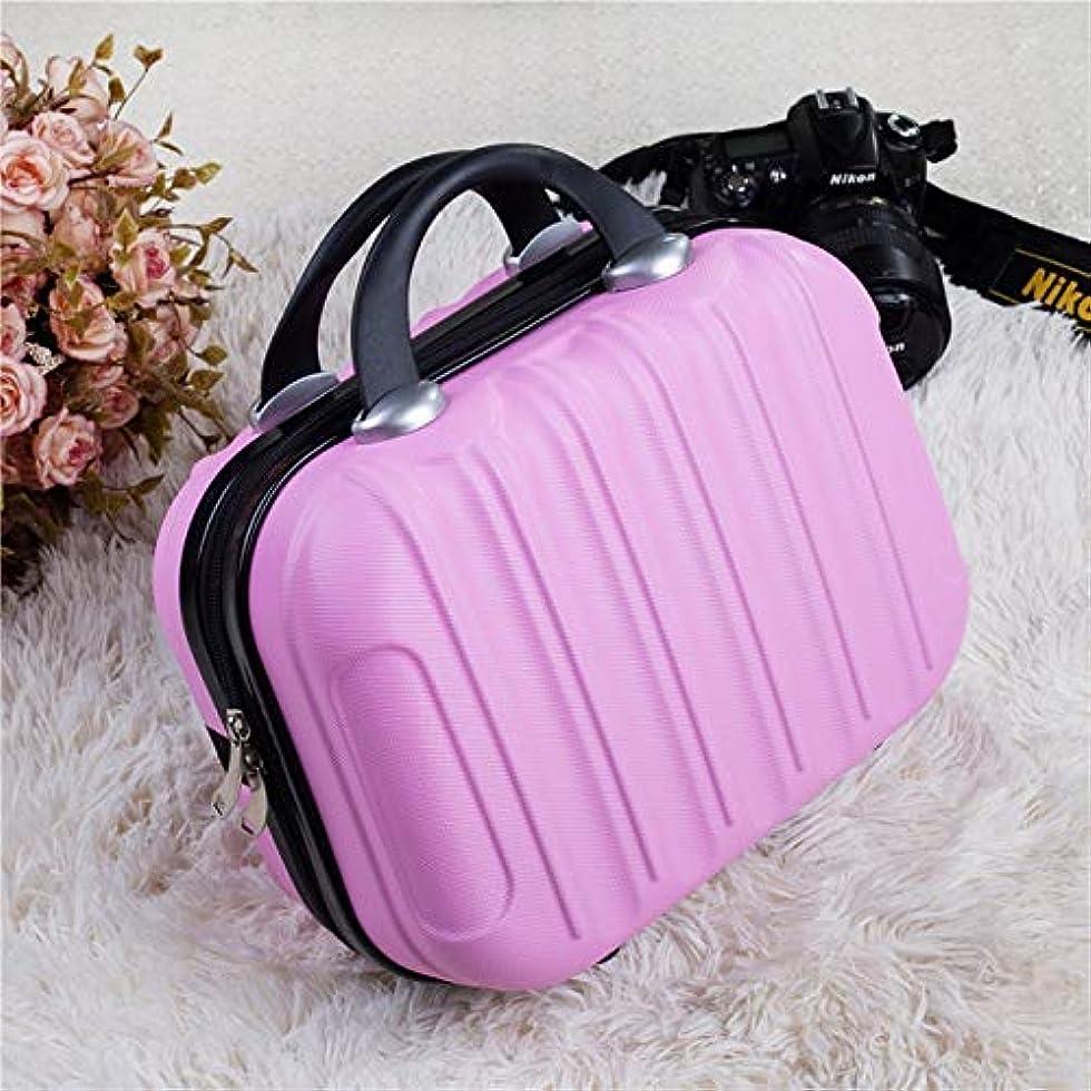 雪だるまを作る予定花嫁防水 大人ポータブル化粧品女性専門化粧ケースビューティーメイクに必要な防水メイクアップバッグスーツケースのために (Color : 8)