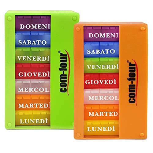 com-four® 2X Dispenser medicamenti in Italiano - Box...
