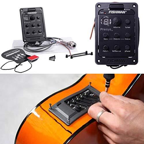 Pastilla de guitarra, Fishman Presys Pastillas Guitarra 4 secciones Balance de instrumentos musicales Junta de piezas