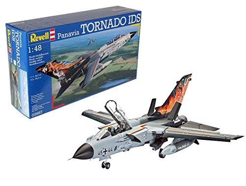 Revell Modellbausatz Flugzeug 1:48 - Panavia Tornado IDS im Maßstab 1:48, Level 5, originalgetreue Nachbildung mit vielen Details, 03987