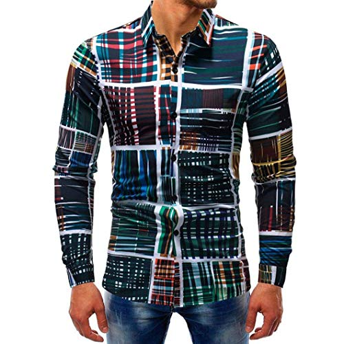 Nvfshreu Mannen Shirts Lange Zakelijke Mens Slim Sleeve Shirt Fit Clásico Eenvoudige Stijl Shirt Casual Lange Mouw Shirt afdrukken Lange Mouw Casual Shirt Pak Zakelijke Bruiloft Vrije tijd Shirts Mens Sweashirt