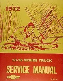 1972 Chevrolet 10-30 Series Truck Service Manual