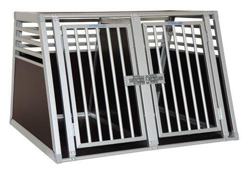 Schmidt-Box Hundebox Doppelbox ALU UMD 100/93/68 Gross!