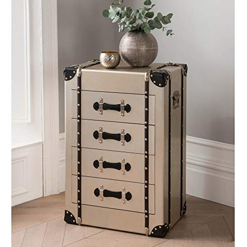 homesdirect365 4 Drawer Luggage Trunk