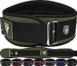 RDX Sollevamento Pesi Cintura Palestra per Powerlifting 6' Neoprene Lombare Cintura per Bodybuilding, Schiena Allenamento della Forza, Fitness, Muscoli, Deadlifts Workout Squat