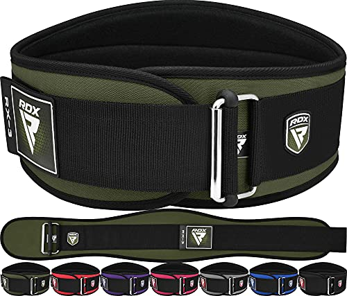 RDX Weight Lifting Belt for Gym Fitness Strength Training, 6 Inches Wide...