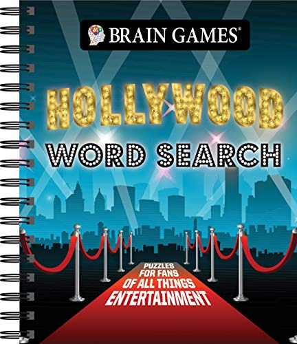 Compare Textbook Prices for Brain Games - Hollywood Word Search  ISBN 9781640307018 by Publications International Ltd.,Brain Games