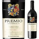 赤ワイン 辛口 プレミオ イタリア ミディアムボディ プリミティーヴォ:15 1本 750ml