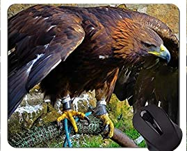 Eagles Mouse Pad Personalized,Eagle Mouse Pad With Stitched Edge