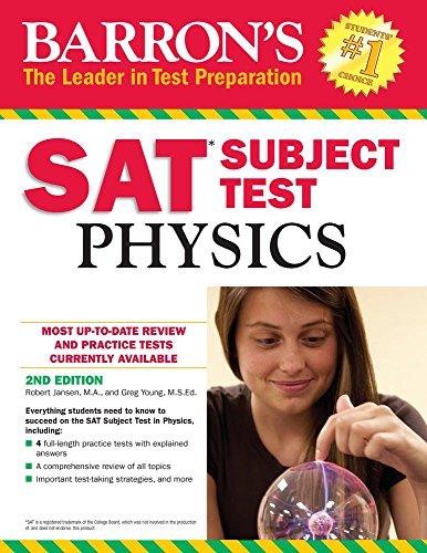 Barron's SAT Subject Test: Physics, 2nd Edition