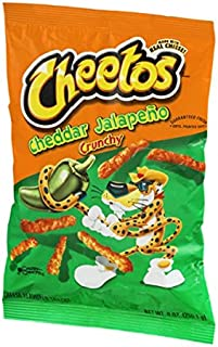 Cheetos Cheddar Jalapeno Crunchy Cheese Flavored Snacks aus den USA