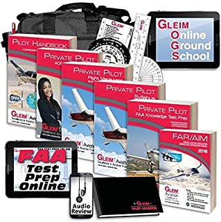 Gleim Deluxe Private Pilot Kit - Online Ground School - Audio Review - CURRENT