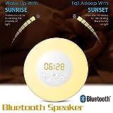 Wireless Bluetooth Lautsprecher intelligente Audio-Schreibtischlampe LED Musik Glühbirne Bunte Wake-Up Atmosphäre Licht Lautsprecher SHITAO