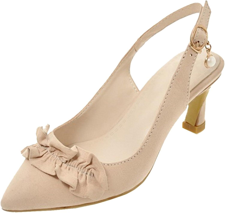RizaBina Women Fashion Slingback Sandals Heels