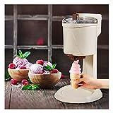 Machine électrique crème glacée, des ménages 1L Capacité DIY automatique sorbetière rapide amovible facile à nettoyer Gelato crème glacée Yaourt cône ggsm