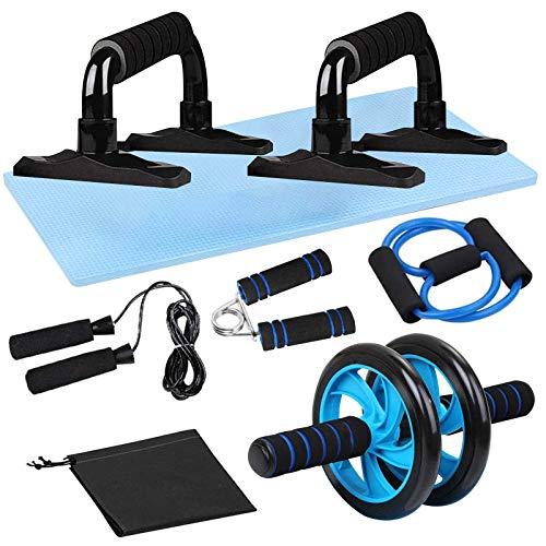 Fitness-Übungs-Set, 7-teilig, 6-in-1,...