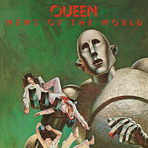 Queen - News of the World (Limited Black Vinyl) [Vinyl LP]
