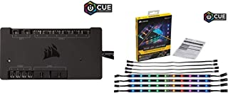 CORSAIR iCUE Commander PRO Smart RGB Lighting and Fan Speed Controller with RGB LED Lighting PRO Expansion Kit